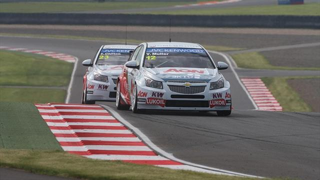 WTCC - Muller tops second practice in Moscow