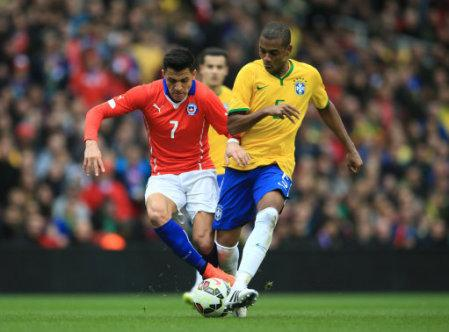 Soccer - International Friendly - Brazil v Chile - Emirates Stadium