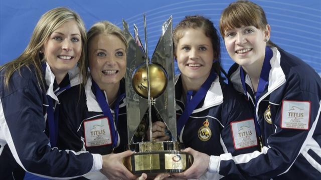 Curling - Adams admits British curlers have a target on their back