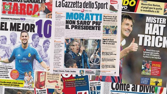 European Football - Euro Papers: Inter SOLD?!
