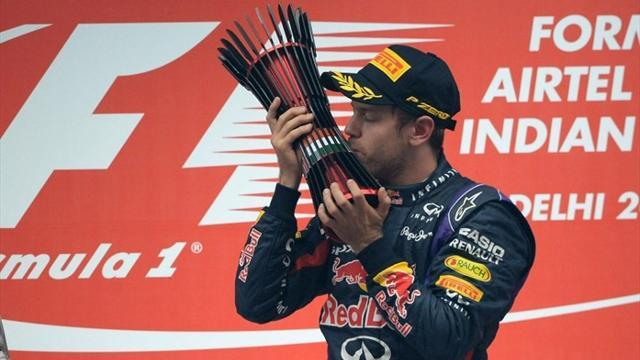 Indian Grand Prix - Vettel's 'mean streak' proves he's one of the all-time greats