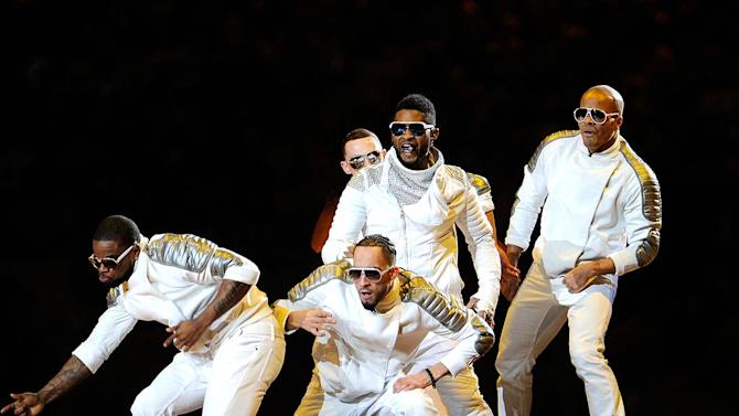 Usher Super Bowl Performance