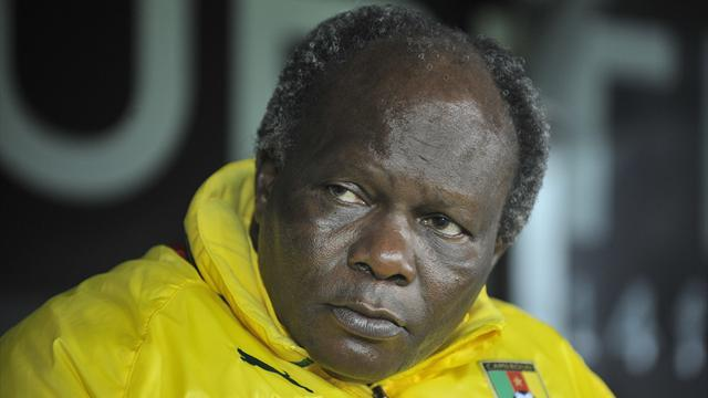 African Football - Cameroon coach Akono aghast as his job is advertised