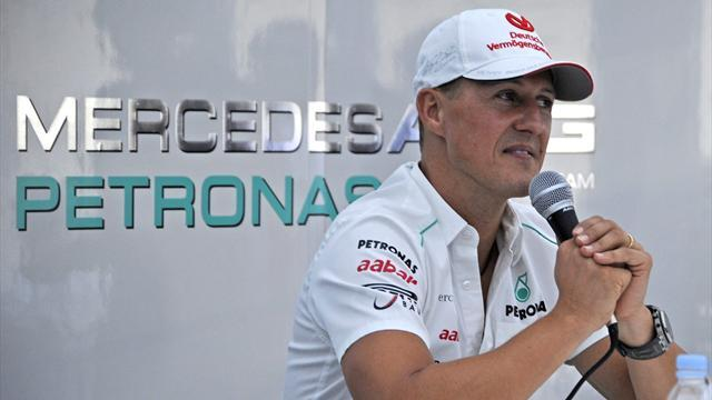 Schumacher's retirement speech