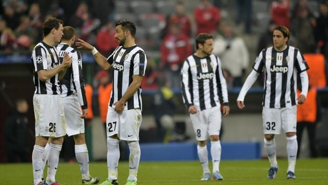 Champions League - Not much to smile about for outclassed Juventus