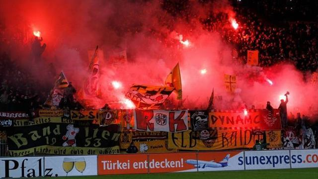 Bundesliga - Dynamo Dresden ban own fans from away games