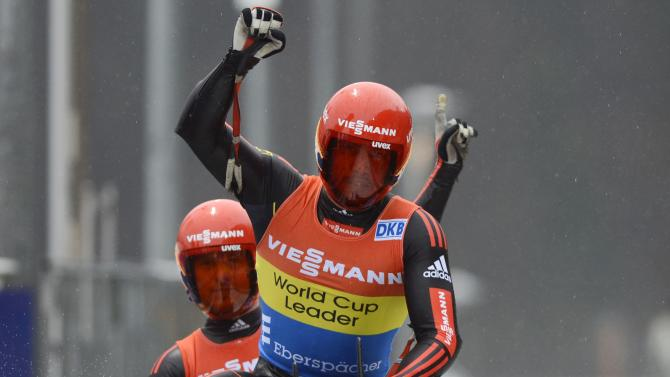 LUGE-WORLD CUP-DOUBLES-MEN