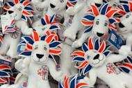London 2012 Olympic cuddly toys are seen displayed at the largest pop-up store in Hyde Park, London, on July 15, as Britain prepares to celebrate the beginning of the Olympic Games. Restrictions on Olympics branding are watertight and have given rise to several widely reported cases where small businesses have fallen foul of the law, apparently deterring others from doing the same