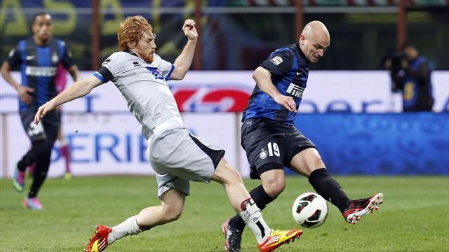 Serie A - Cambiasso joins Inter injury list