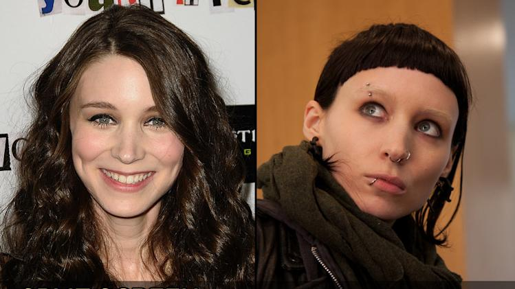 Split Screen Punk transformations 2011 Rooney Mara