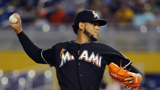 Alvarez makes successful return in Marlins' win