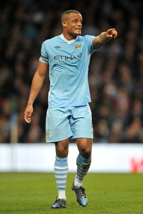 Vincent Kompany pulled up late during Manchester City's friendly draw