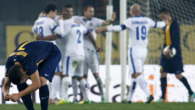 Serie A - Inter Milan brush past Hellas Verona