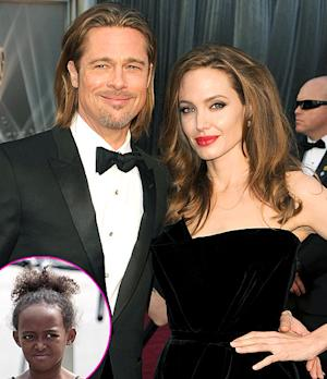 Zahara Jolie-Pitt Asks Brad Pitt, Angelina Jolie to Stop Making Out