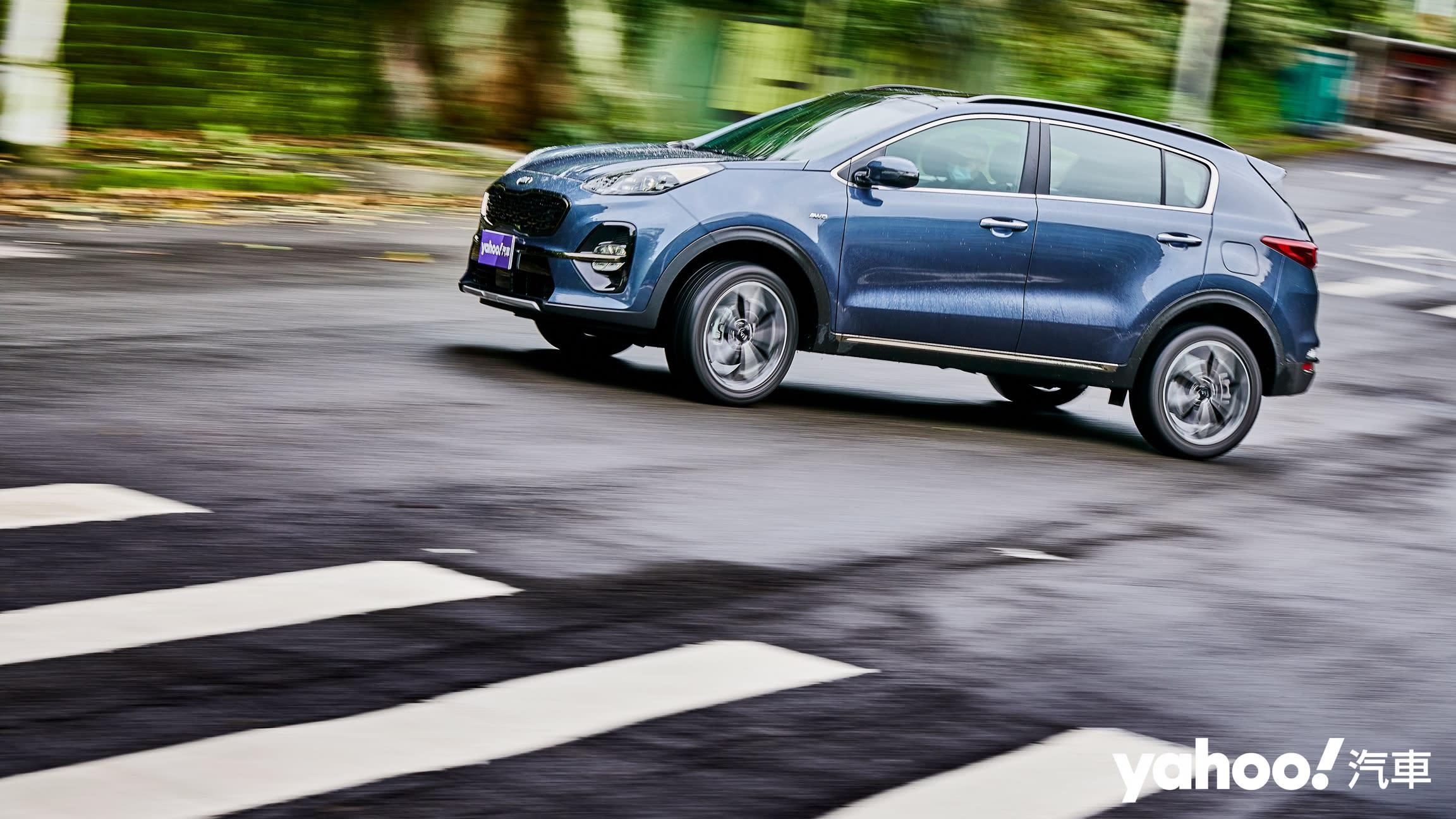 【新車圖輯】時代錯置的運動休旅悍將!2020 Kia Sportage GT Line AWD小改款城郊試駕!