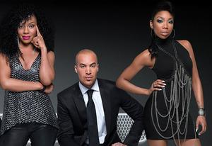 Wendy Raquel Robinson, Coby Bell, Brandy | Photo Credits: BET