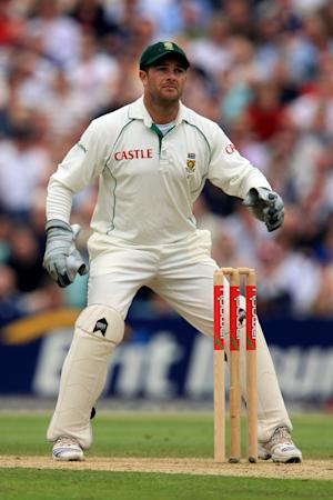 An eye injury sustained during a tour match last month forced Mark Boucher to retire
