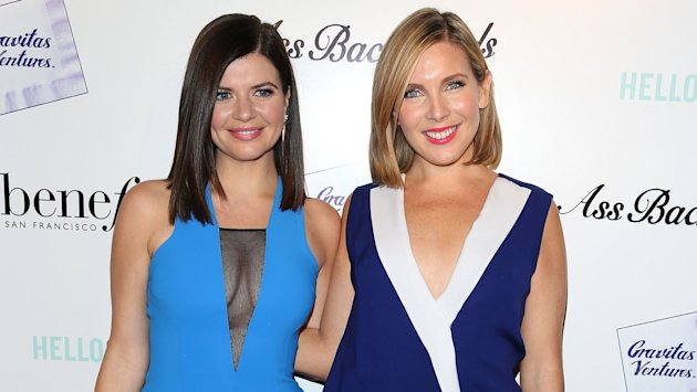 Casey Wilson and June Diane Raphael