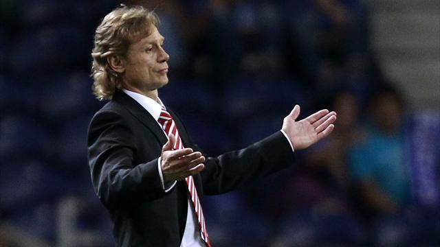 European Football - Spartak boss Karpin banned for confronting referee