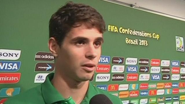 Confederations Cup - Oscar pleased with Brazil progress