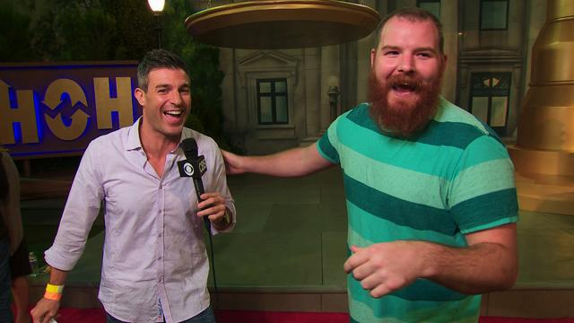 Big Brother Finale: Backyard Interview with Spencer