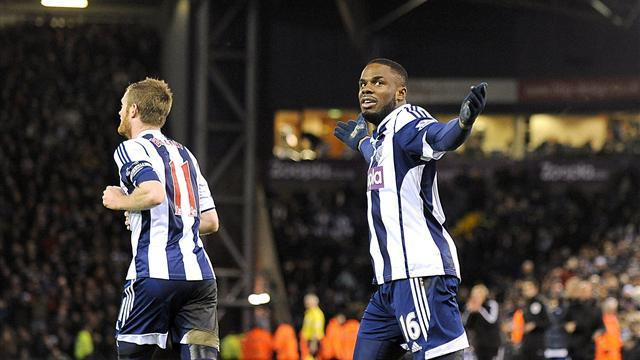 Premier League - Substitute Anichebe nods late equaliser as West Brom hold Chelsea