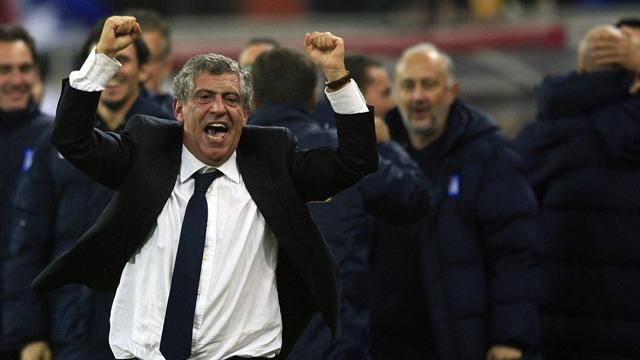 European Football - Greece coach Santos to step down after World Cup