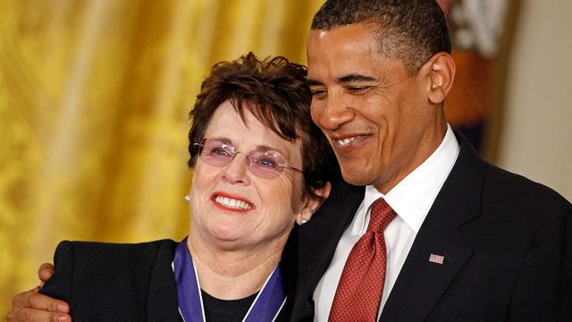 Billie Jean King talks Olympics, civil rights