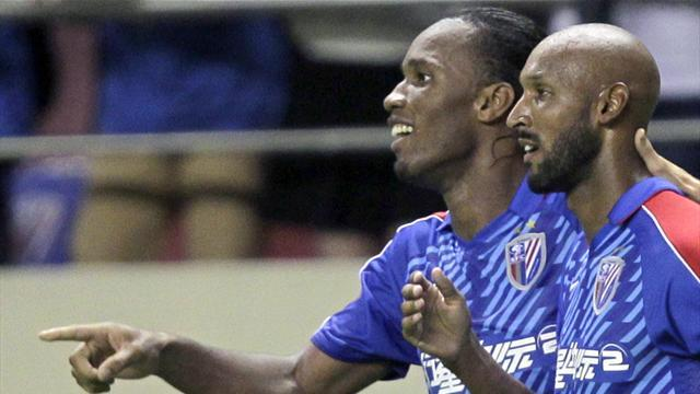 World Football - No Shanghai surprise as Drogba and Anelka depart