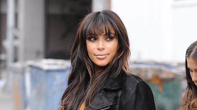 Kim Kardashian goes on a shopping spree in SoHo and Meatpacking District with friends Loren Ridinger and Simon Huck