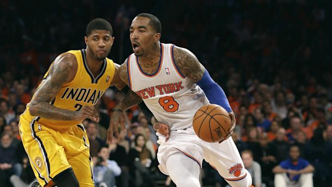 Pacers Knicks Basketball