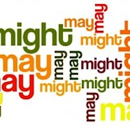 Grammar Hammer: I Think I May, I Think I Might image may might 200x200