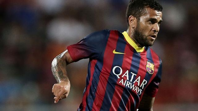 Liga - Martino and Alves back at Barcelona