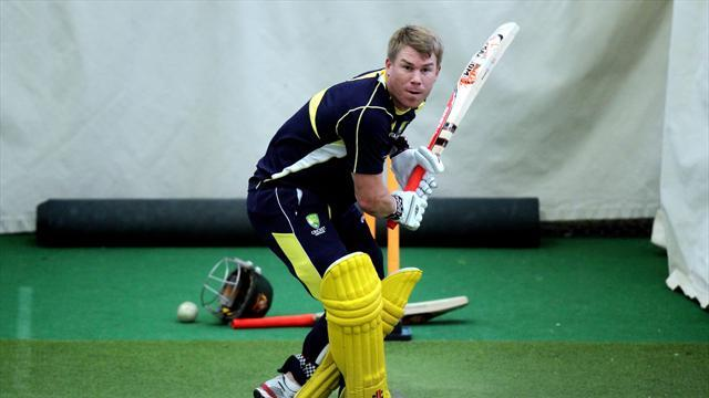 Cricket - Warner likely to miss ODI series