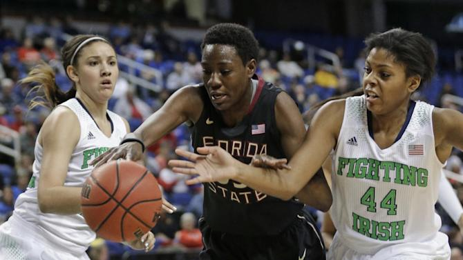 No. 2 Notre Dame women beat FSU 83-57 in ACCs