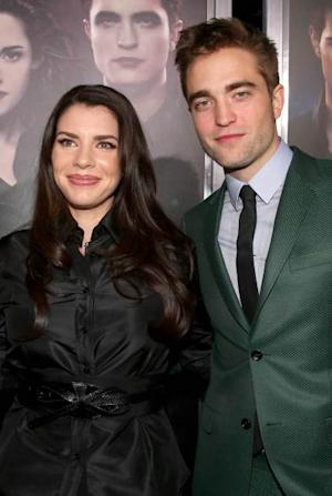 Stephenie Meyer, Robert Pattinson -- Getty Images