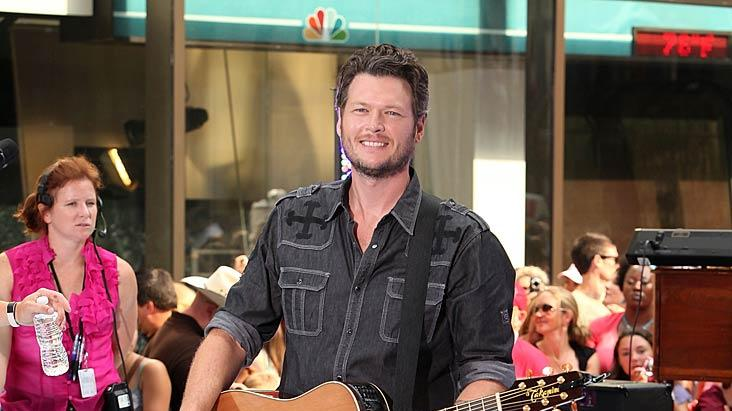 Blake Shelton Today Show