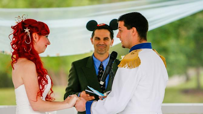 Bride's Magical Disney-Themed Wedding