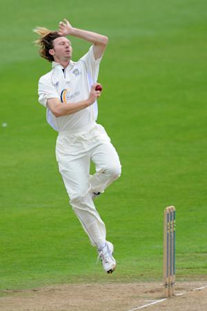 Callum Thorp took five wickets for Durham