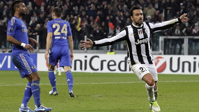 Champions League - Classy Juventus leave Chelsea on brink of exit