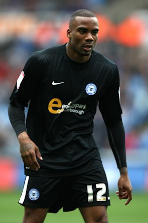 Emile Sinclair, pictured, is still very much in Peterborough boss Darren Ferguson's plans