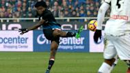 He may be linked with numerous clubs, but midfielder Franck Kessie said he was happy at Atalanta.