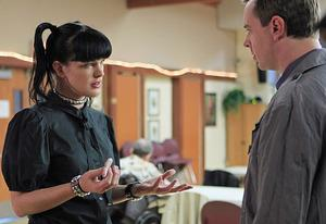 Pauley Perrette and Sean Murray | Photo Credits: Sonja Flemming/CBS