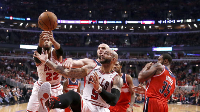Wizards eliminate Bulls with 75-69 victory