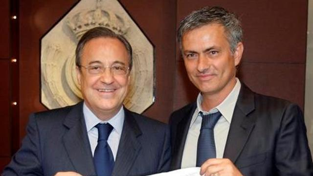 Spanish Liga - Perez and Mourinho present united front at Real