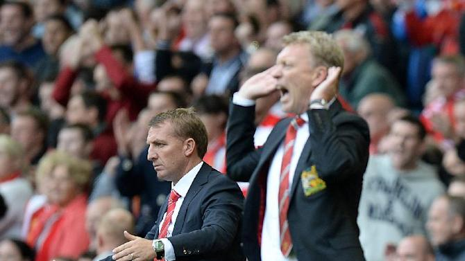 Soccer - Barclays Premier League - Liverpool v Manchester United - Anfield