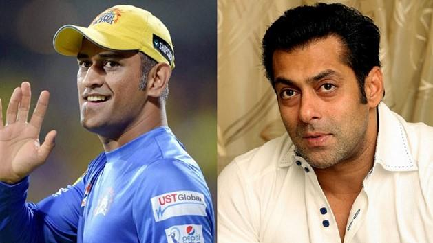 MS Dhoni replaces Salman Khan