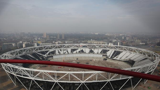 Previews Ahead Of The Opening Of The Queen Elizabeth Olympic Park And Orbit