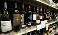 Wine for sale in a store in Los Angeles. After years in which lovers of Burgundy, Bordeaux and Champagne have had to put up with the cost of their favourite tipple rising inexorably, merchants anticipate that the 2012 vintage will see prices either stabilise or rise by only modest amounts