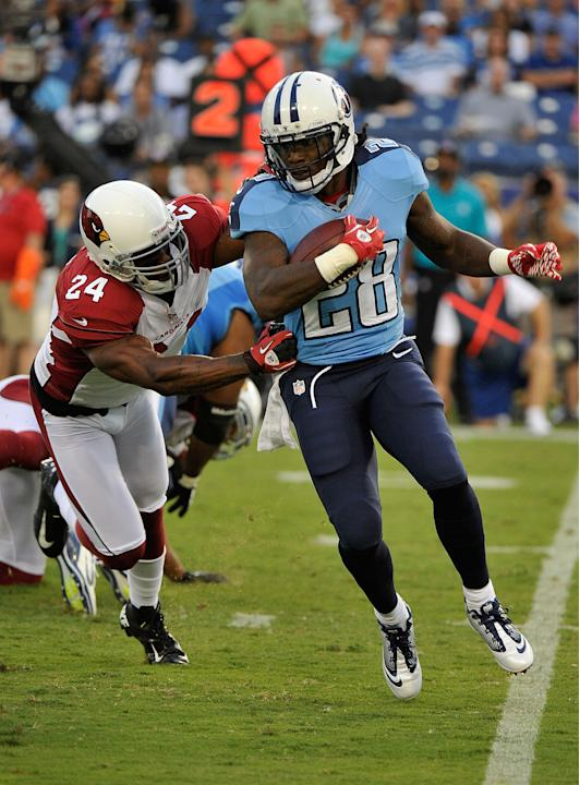 Arizona Cardinals v Tennessee Titans